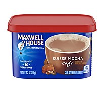 Maxwell House International Beverage Mix Cafe-Style Suisse Mocha Cafe - 7.2 Oz