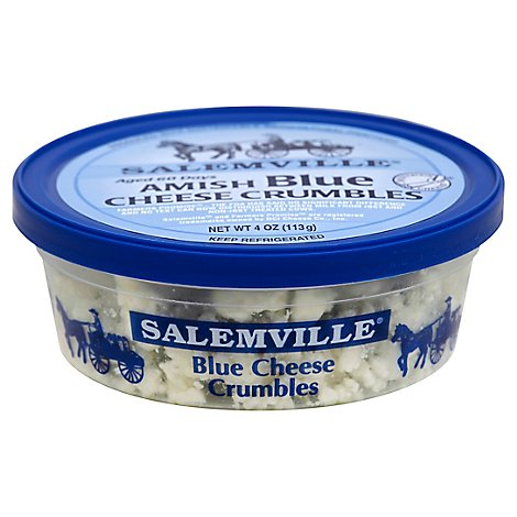Salemville Cheese Blue Amish Crumbles - 4 Oz