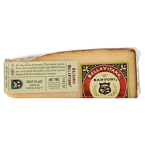 Sartori Cheese BellaVitano Reserve Balsamic - 5.3 Oz