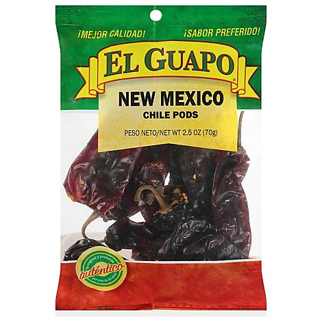 El Guapo Chile Pods New Mexico - 2.5 Oz