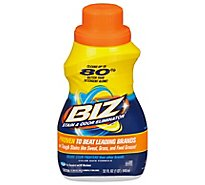 Biz Liquid Detergent Stain & Odor Eliminator Bottle - 32 Fl. Oz.