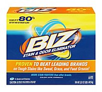 Biz Laundry Detergent Stain & Odor Eliminator Box - 50 Oz