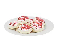 Bakery Cookies Frosted Sugar Valentine White - 13.5 Oz
