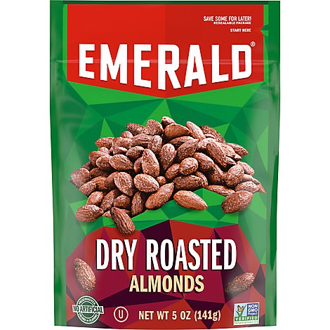 Emerald Almonds Dry Roasted - 5 Oz