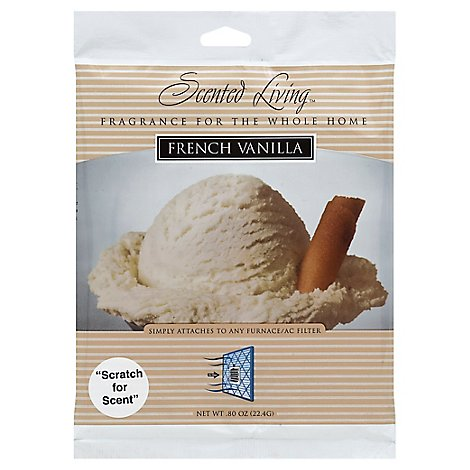 Scented Living French Vanilla - Each