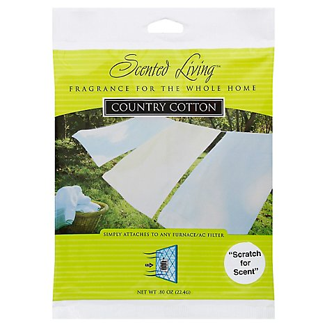 Scented Living Filter Scent Country Cotton - Each