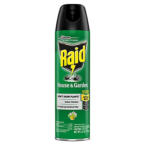 Raid House & Garden I 11 oz (1 ct)