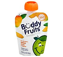 Buddy Fruits Original Pure Blended Fruit Banana Passion & Mango - 3.2 Fl. Oz.