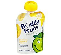 Buddy Fruits Original Pure Blended Fruit Apple & Banana - 3.2 Fl. Oz.