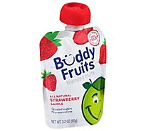 Buddy Fruits Original Pure Blended Fruit Apple & Strawberry - 3.2 Fl. Oz.