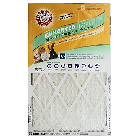 Arm & Hammer 16 X 25 X 1 Inch Filter - Each