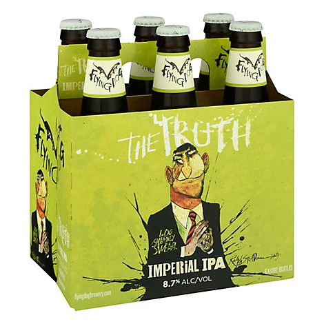 Flying Dog Beer IPA Imperial The Truth Bottles - 6-12 Fl. Oz.