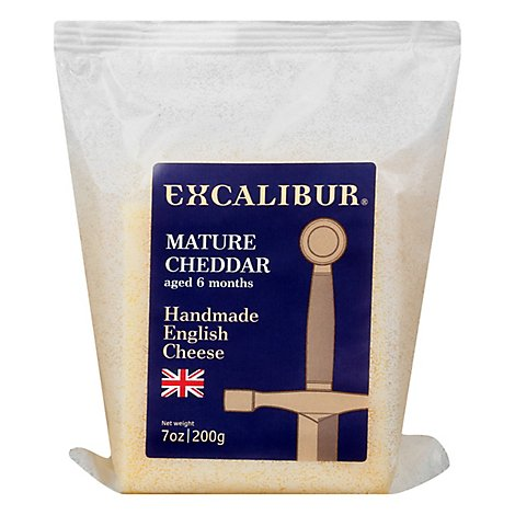 Excalibur Cheddar English - 1 Oz