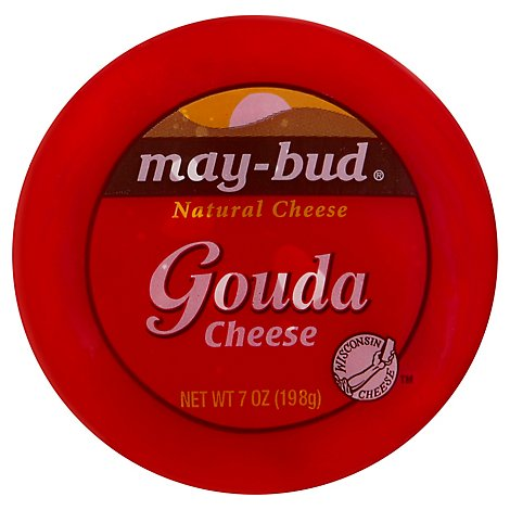 May-Bud Cheese Gouda - 7 Oz