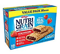 Nutri-Grain Soft Baked Breakfast Bars Strawberry Value Pack - 20.8 Oz