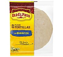 Old El Paso Tortillas Flour For Burritos Wrapper - 8 Count