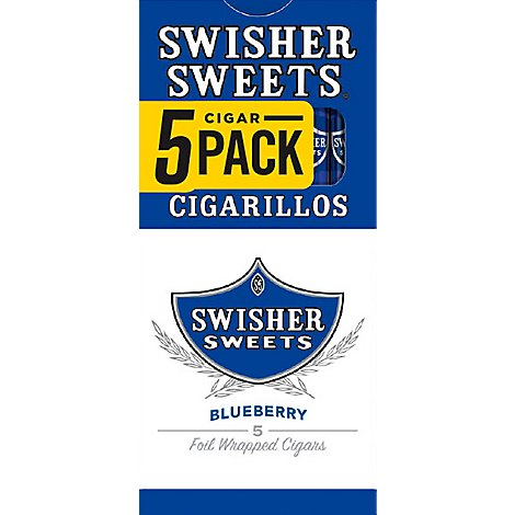 Swisher Sweets Cigarillos Blueberry 5for3 - 5 Package