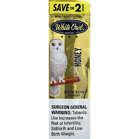 White Owl Gold Cigarillo - 2 Package