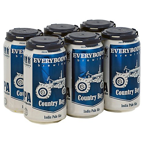 Everybodys Country Boy Ipa In Cans - 6-12 Fl. Oz.