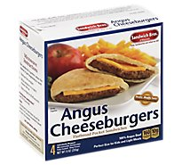 Sandwich Bros Angus Cheeseburger - 4-9 Oz