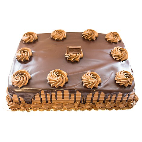 Bakery Cake 1/4 Sheet Hersheys - Each