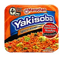 Maruchan Yakisoba Japanese Noodle Home-Style Spicy Chicken - 4.11 Oz