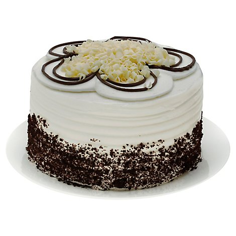 Bakery Cake White 2 Layer Whipped Icing - Each