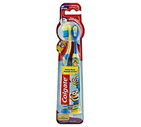 Colgate Toothbrush Extra Soft Minions Ages 5+ Value Pack - 2 Count