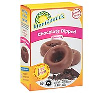 Kinnikinnick Donuts Gluten Free Chocolate Dipped - 6 Count
