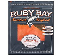 Ruby Bay Salmon Sockeye Sliced - 3 Oz