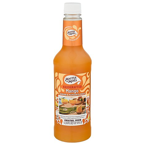 Master Of Mixes Mixer Daiquiri Margarita Mango - 1 Liter