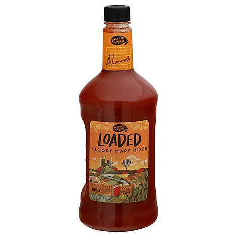 Master Of Mixes Mixer Gourmet Bloody Mary Loaded Everything But The Kitchen Sink! - 59.2 Fl. Oz.
