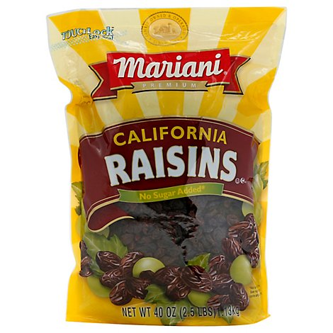 Mariani Raisins - 40 Oz