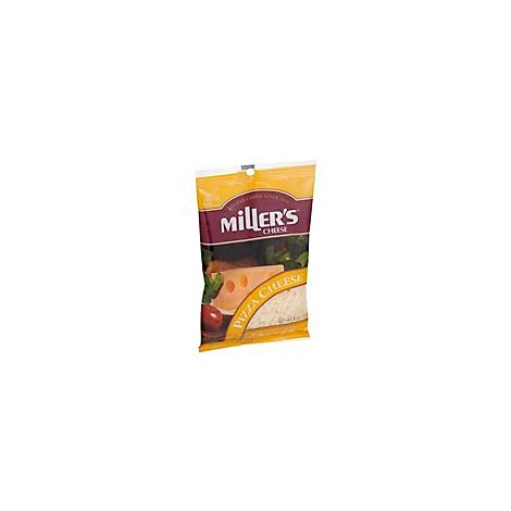 Millers Shredded Pizza Cheese - 8 Oz
