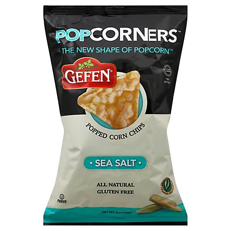 Gefen PopCorners Corn Chips Popped Sea Salt - 5 Oz