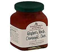 Stonewall Kitchen Jam Raspberry Peach Champagne - 12.5 Oz