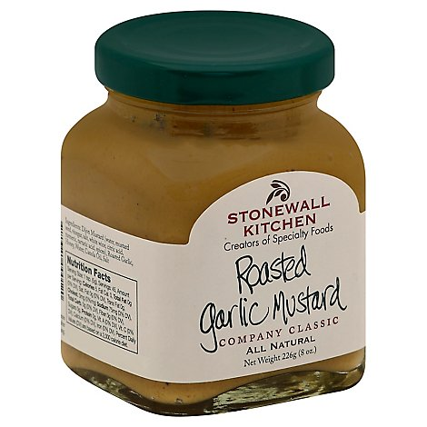 Stonewall Kitchen Mustard Roasted Garlic - 8 Oz