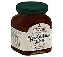Stonewall Kitchen Chutney Apple Cranberry - 8.5 Oz