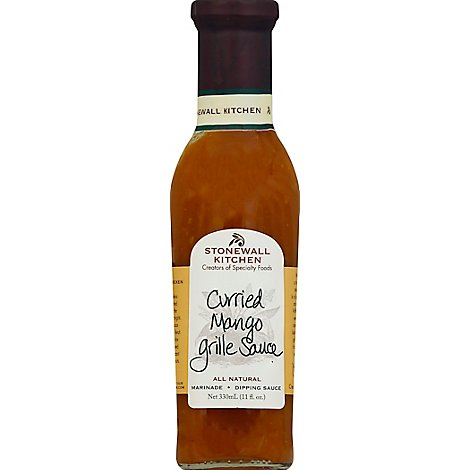 Stonewall Kitchen Sauce Grille Curried Mango - 11 Fl. Oz.