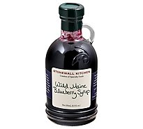 Stonewall Kitchen Syrup Wild Maine Blueberry - 8.5 Oz