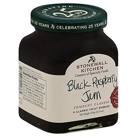 Stonewall Kitchen Jam Black Raspberry - 12.5 Oz