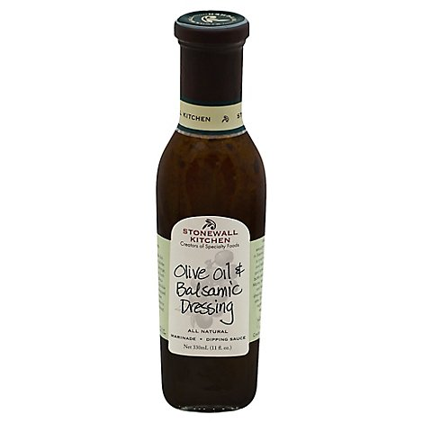 Stonewall Kitchen Dressing Olive Oil & Balsamic - 11 Fl. Oz.