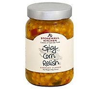 Stonewall Kitchen Relish Spicy Corn - 16 Oz