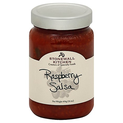Stonewall Kitchen Salsa Raspberry Jar - 16 Oz