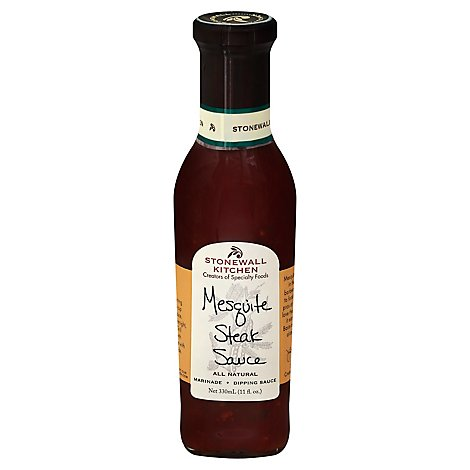 Stonewall Kitchen Sauce Mesquite Steak - 11 Fl. Oz.