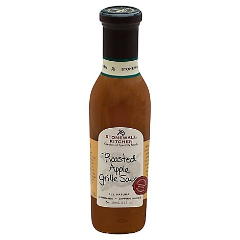 Stonewall Kitchen Sauce Roasted Apple Grille - 11 Fl. Oz.