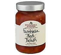 Stonewall Kitchen Relish Farmhouse Red - 16 Oz