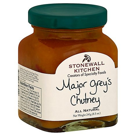 Stonewall Kitchen Chutney Major Greys - 8.5 Oz