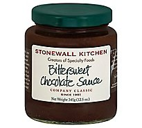 Stonewall Kitchen Sauce Chocolate Bittersweet - 12.5 Oz