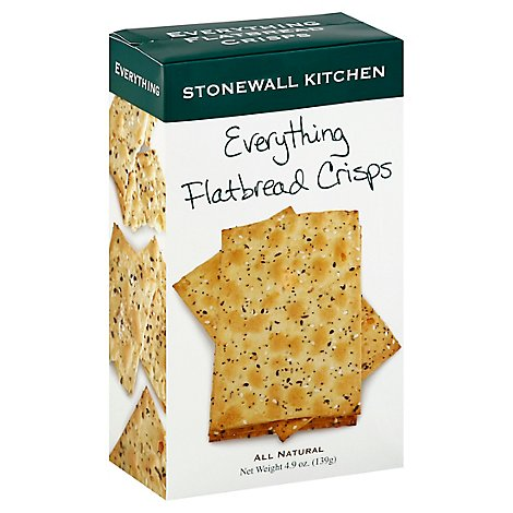 Stonewall Kitchen Crisps Flatbread Everything - 4.9 Oz